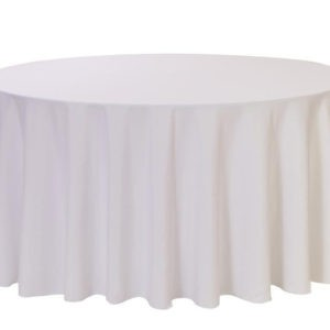 108 round table cloth hire Lancashire