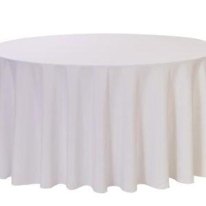 108 round table cloth hire Lancashire
