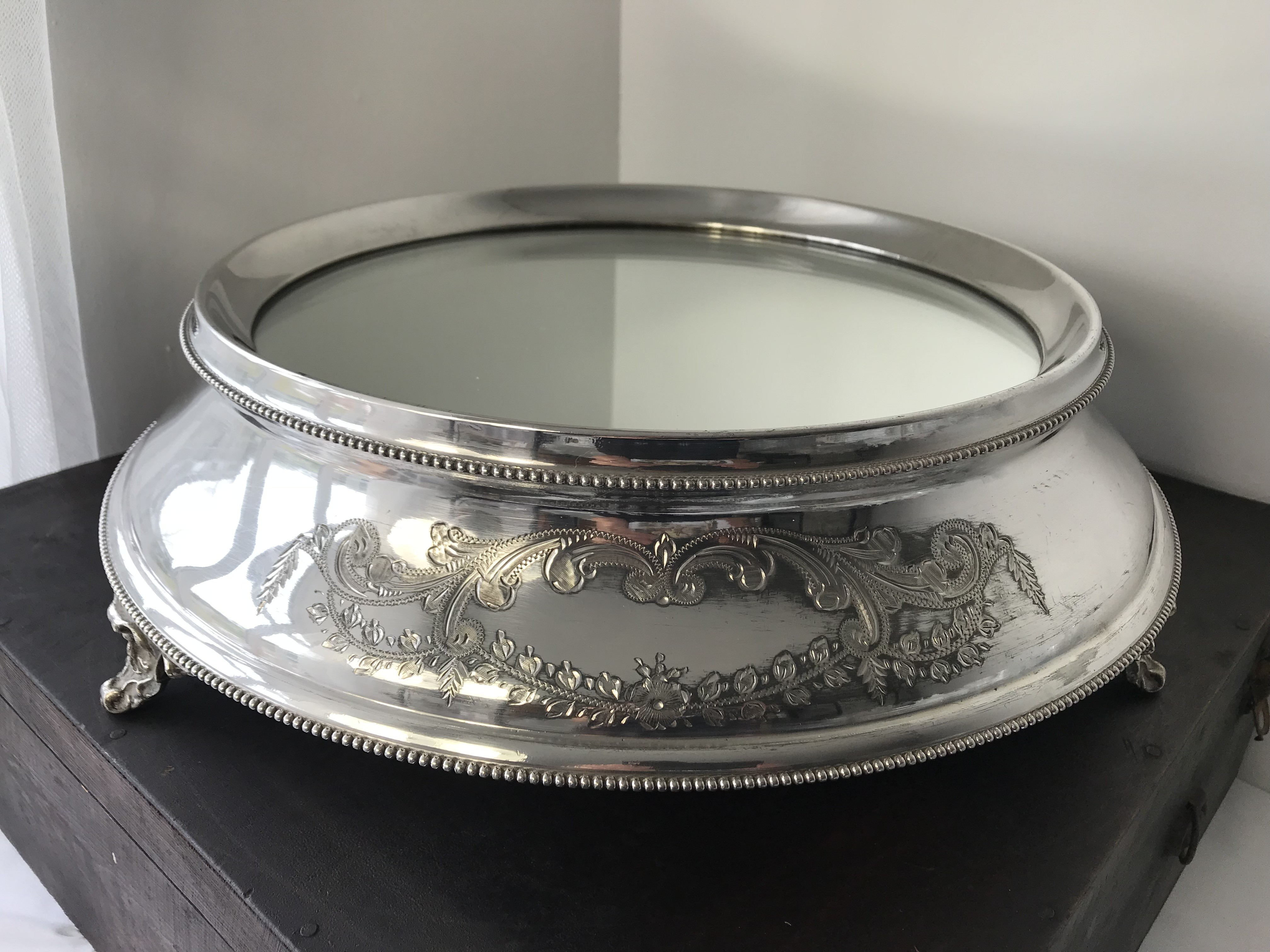 Single Tier Cake Stands Lancashire Catering Hire