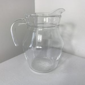 Small Glass Sauce Jug