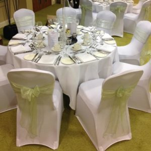 Stretch Chair Cover Hire