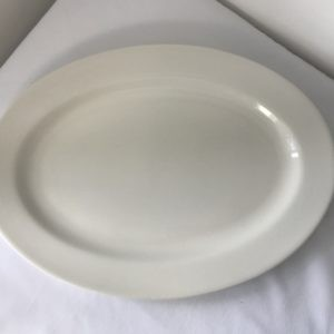 "large oval 14"" serving platter hire"