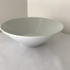 white dessert bowl hire